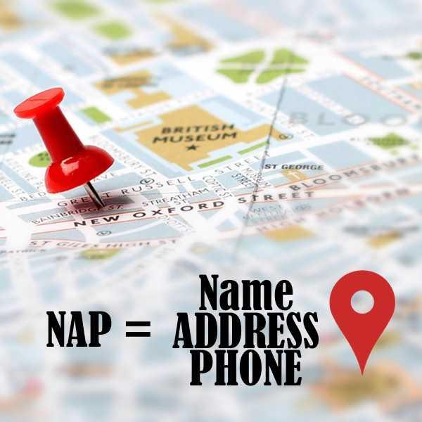 Что такое визитные карточки NAP